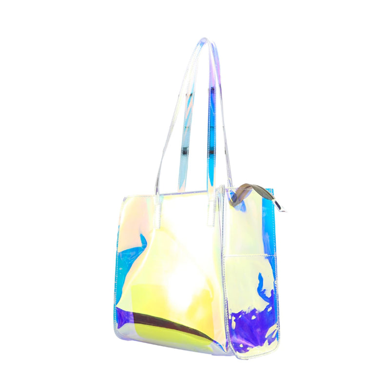 Rainbow Clear Tote