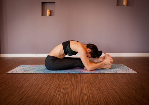 yoga poses to help you destress  digest over the holiday