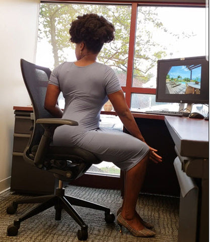 namaste at my desk 8 yoga poses you can do at work