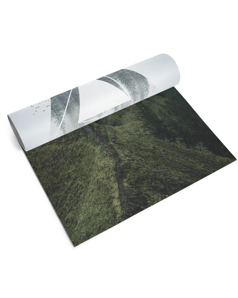 Big Sky - Eco Friendly, Non-Slip Yoga Mat by Apeiron Yoga