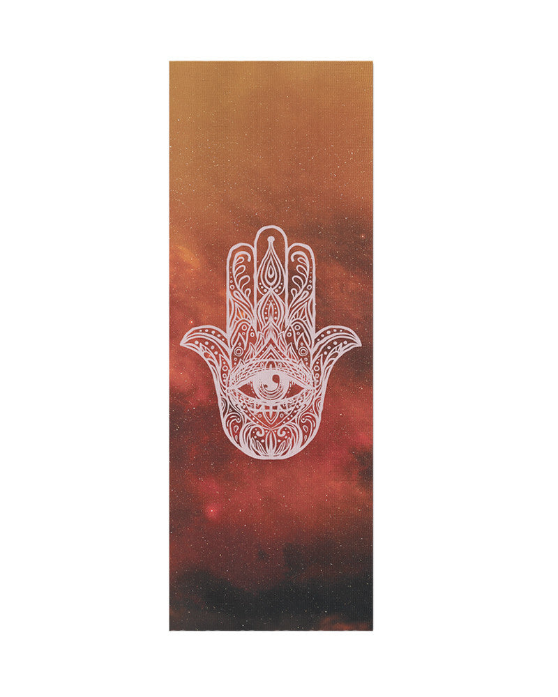 Hamsa Yoga Mat - Eco Friendly, Non-Slip Yoga Mat by Apeiron Yoga