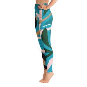 Leaf Paradise Yoga Leggings