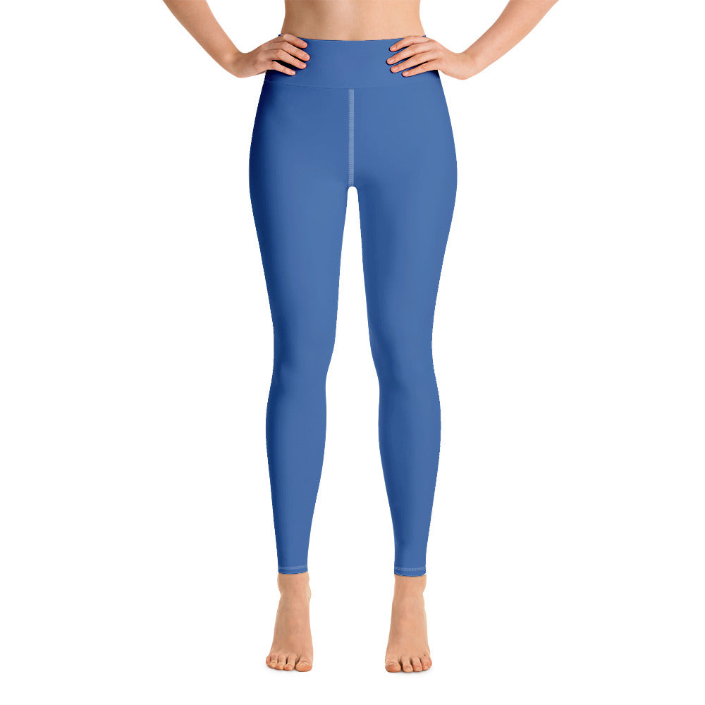 Princess Blue Yoga Leggings
