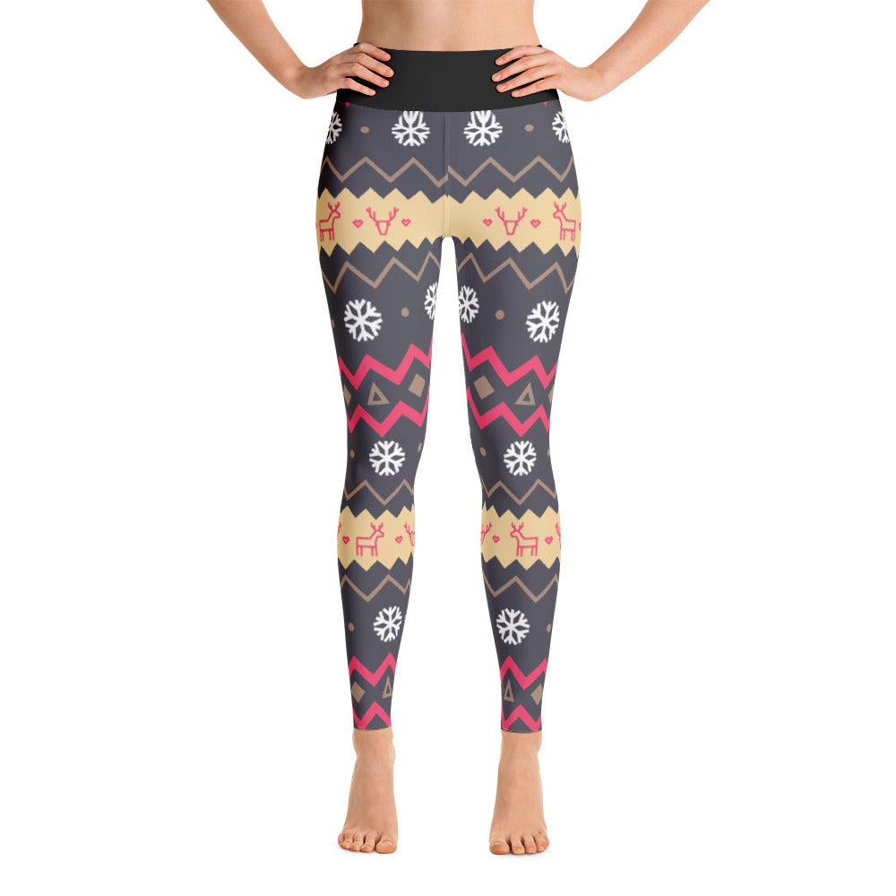 Reindeer Games Yoga Leggings