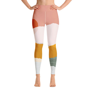 Sorbet Sunset Yoga Leggings