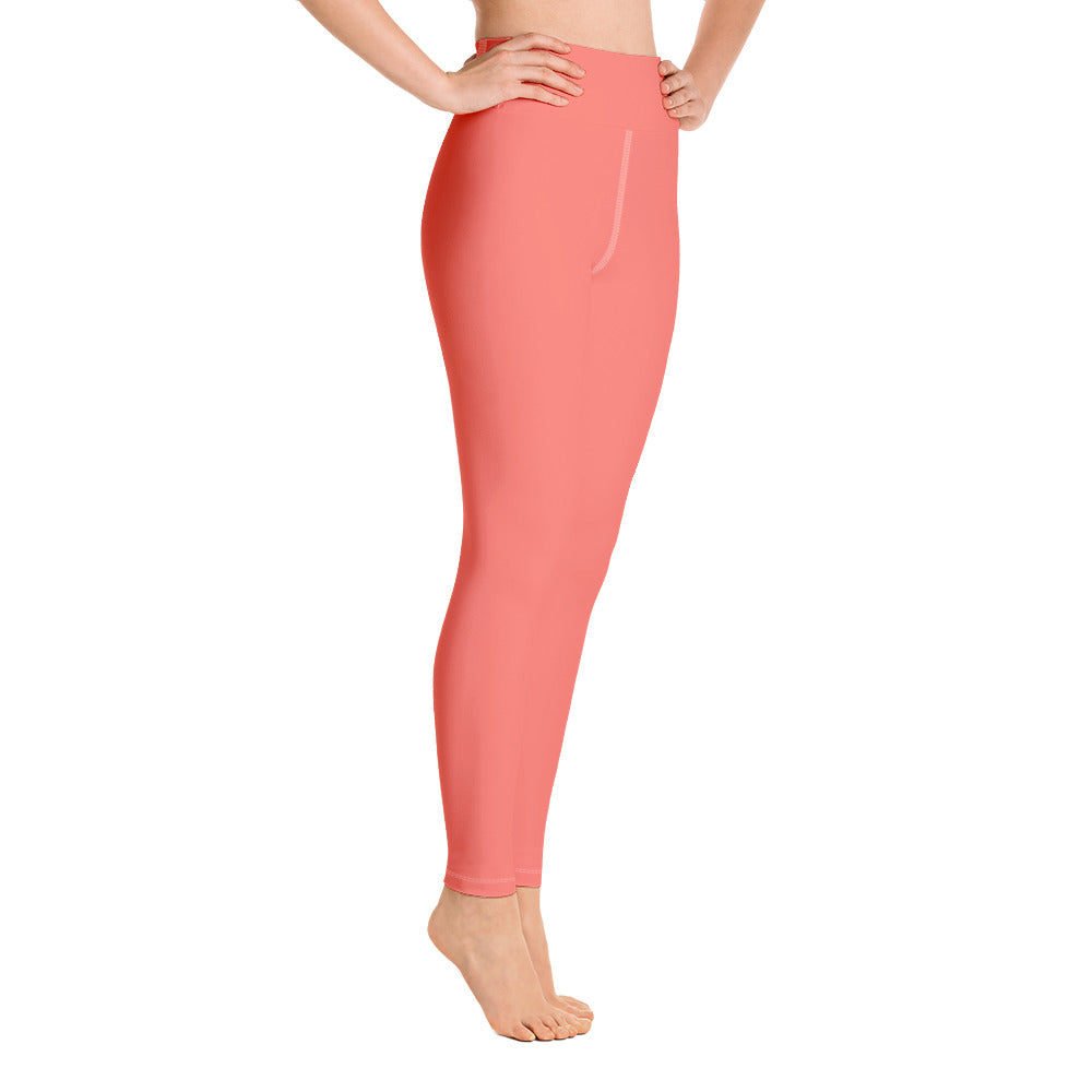 Living Coral Yoga Leggings