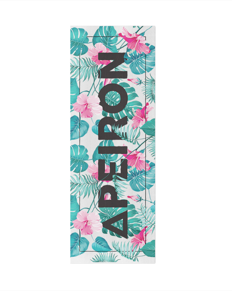 South Beach Yoga Mat - Eco Friendly, Non-Slip Yoga Mat by Apeiron Yoga