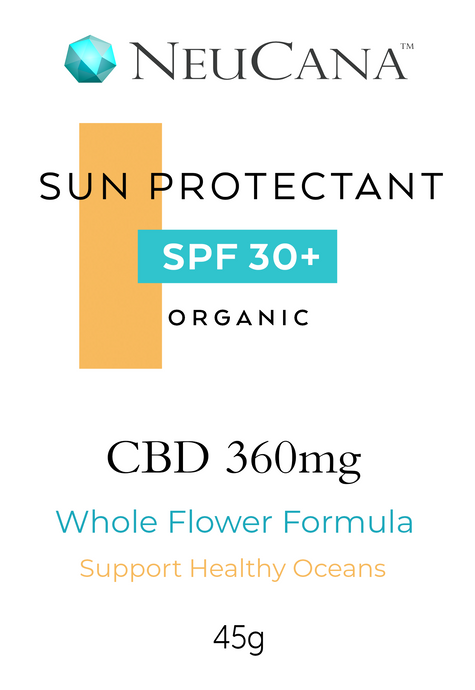 NeuCana CBD Sun Protection 360mg / 45g