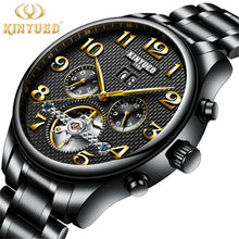 Top Brand Luxury Fashion Automatic Mechanical Watch Men Stainless steel Waterproof Calendar Sport Wrist Watch Relojes Hombre
