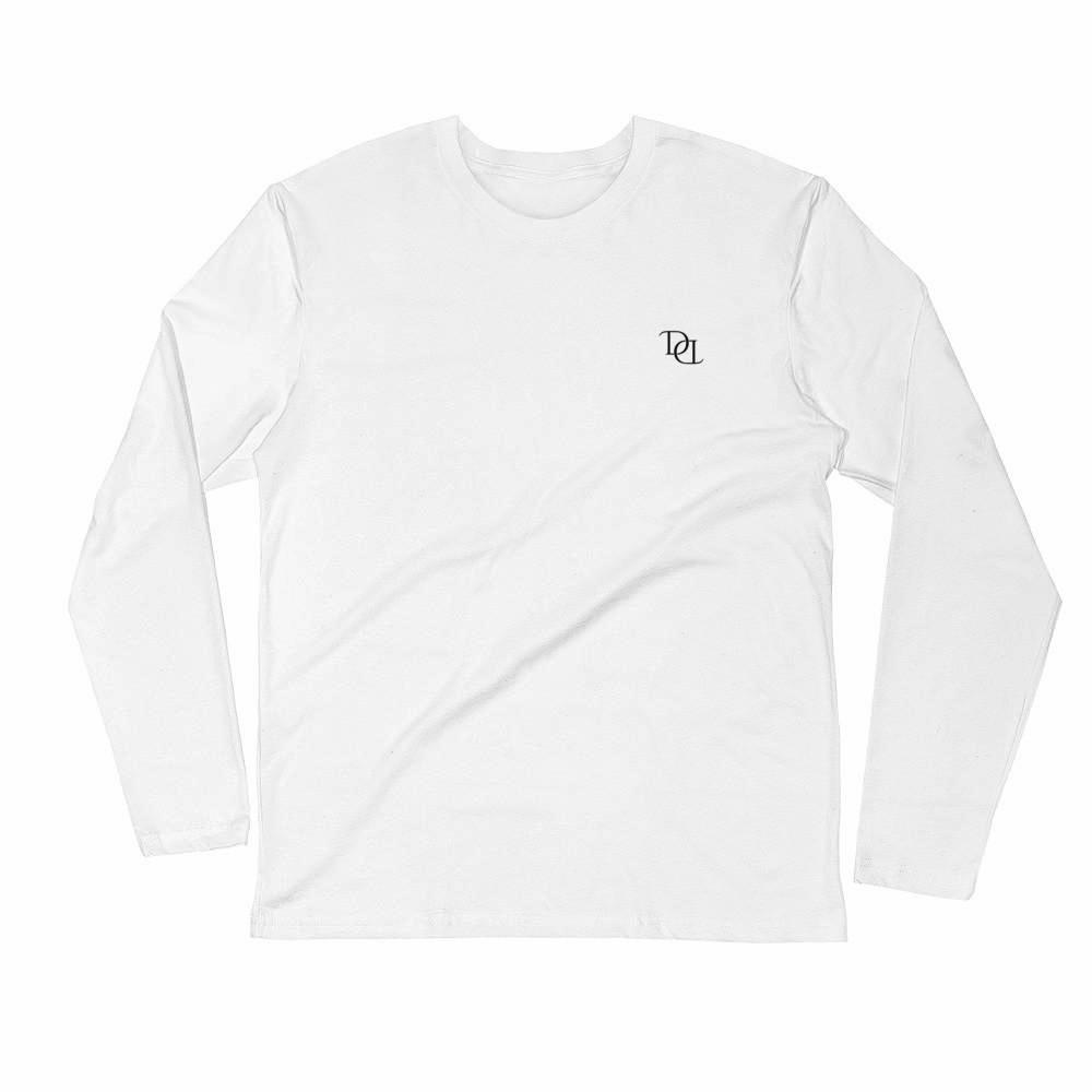 "Defdapper®  ""DD"" Long Sleeve Fitted Shirt"