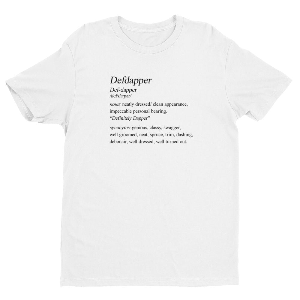 Defdapper®  Definition Short Sleeve T-shirt