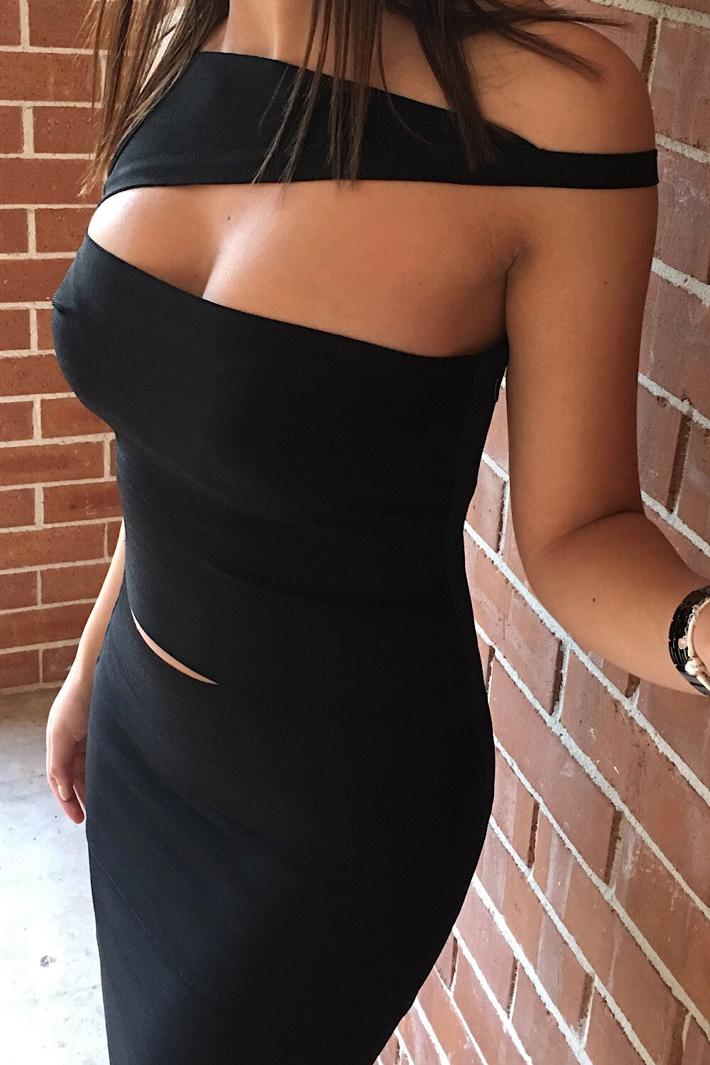Scarlet Black Bandage Dress