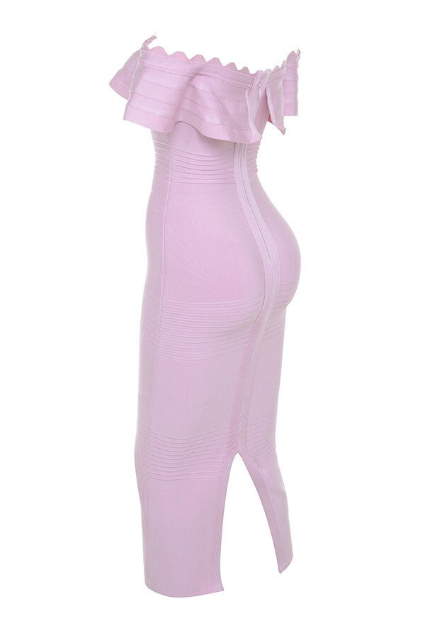 Kiki Lilac Bandage Dress
