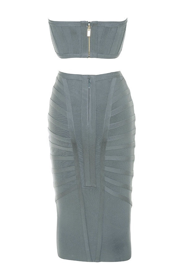 Toula Grey Bandage Set