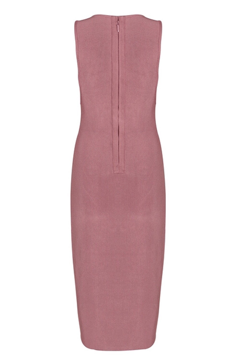 Estate Dark Blush Bandage Dress