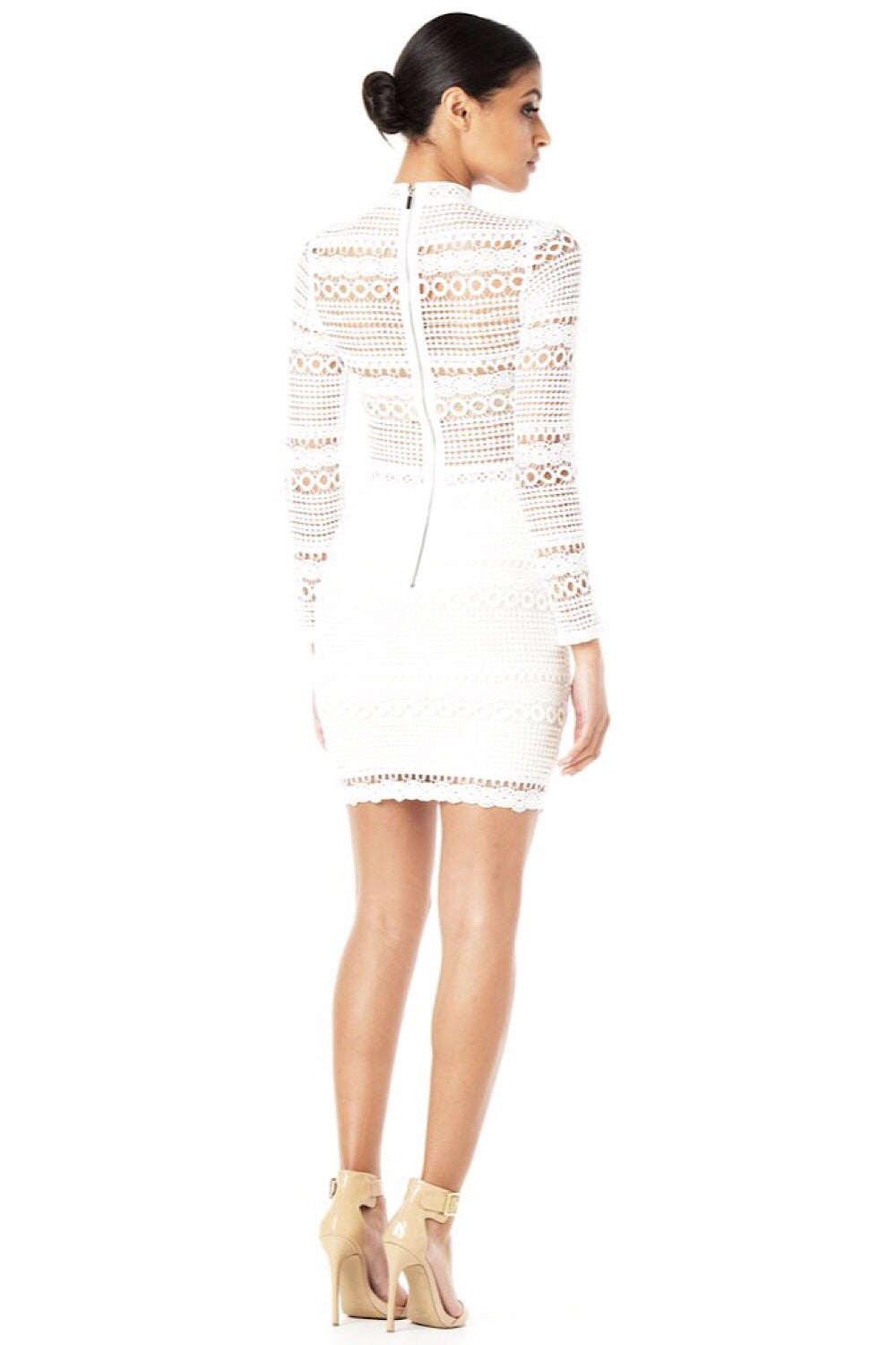 Romànce White Lace Dress