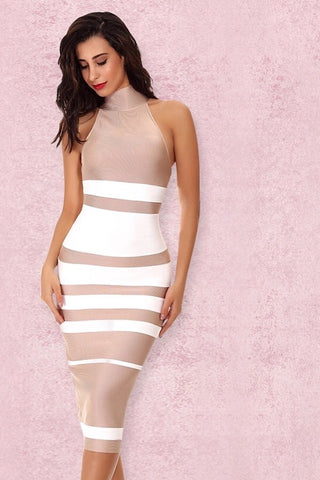 Rendezvous Black Bandage Dress