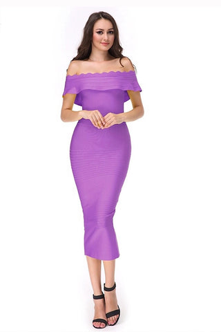 Rendezvous Pink Bandage Dress