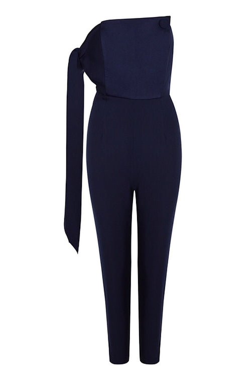 Spellbound Navy Jumpsuit