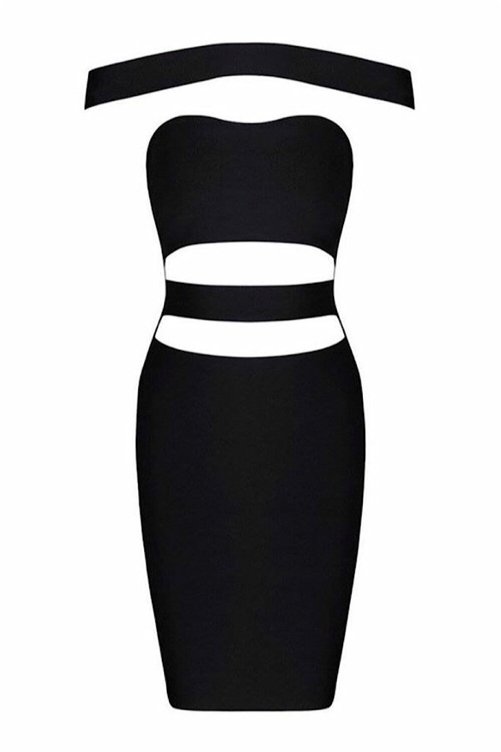 Kylie Jenner Black Bandage Dress