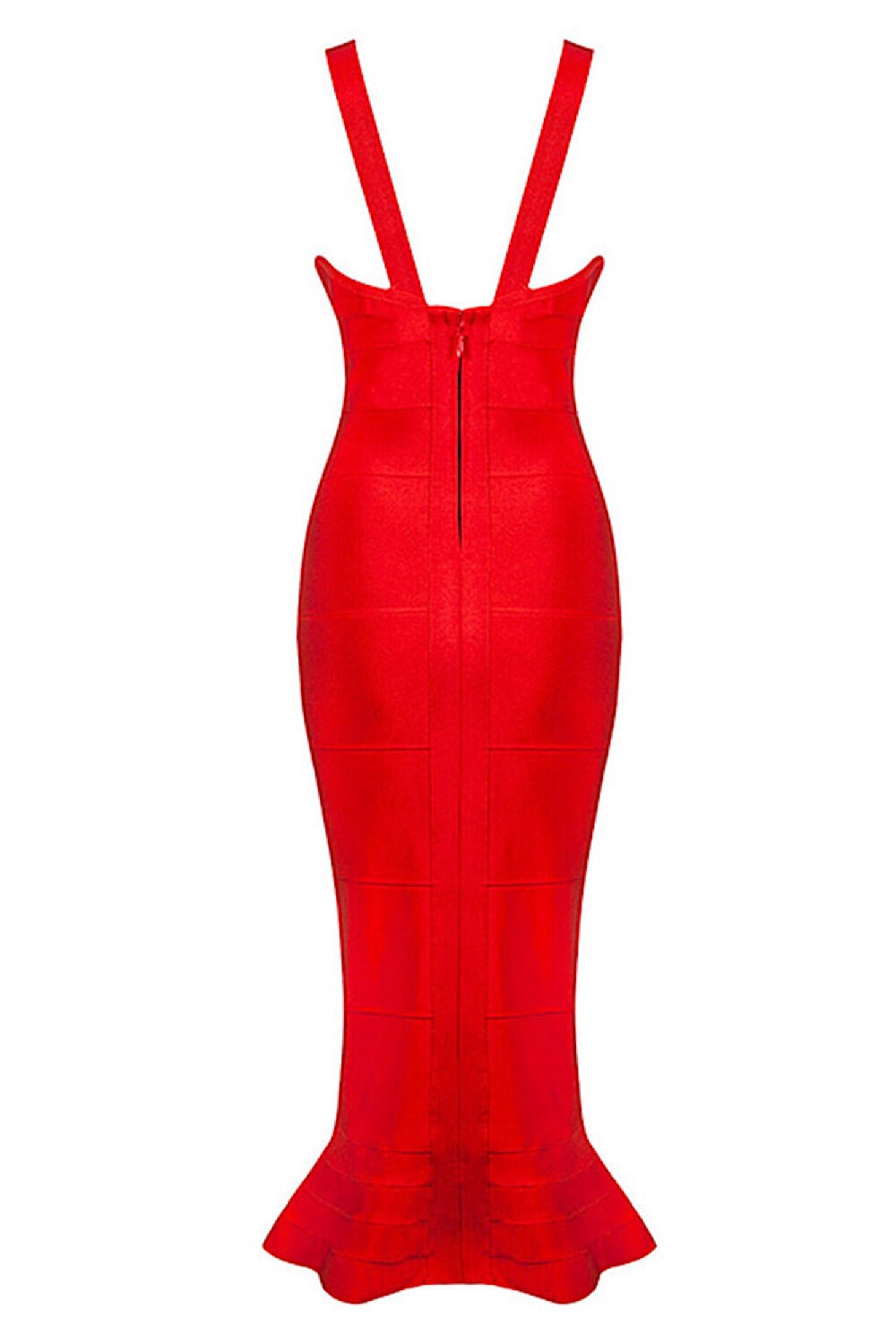 Gigi Red Bandage Dress
