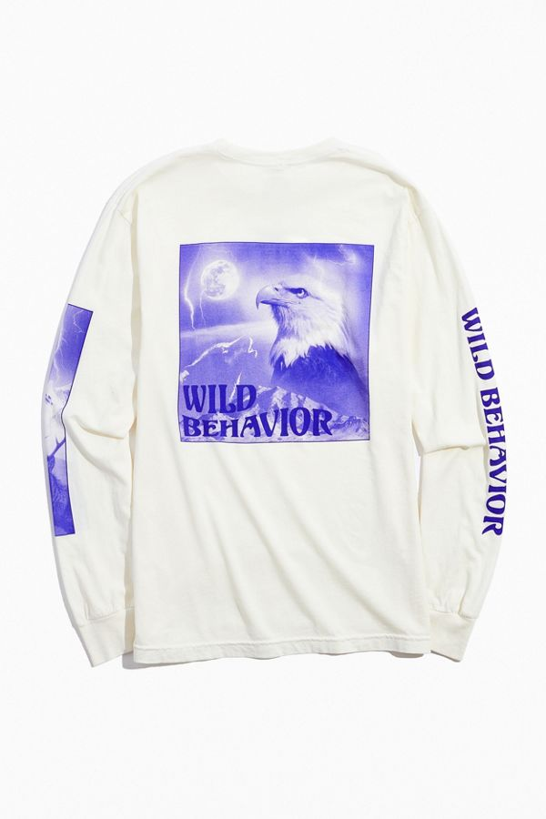 Wild Behavior Long Sleeve Tee