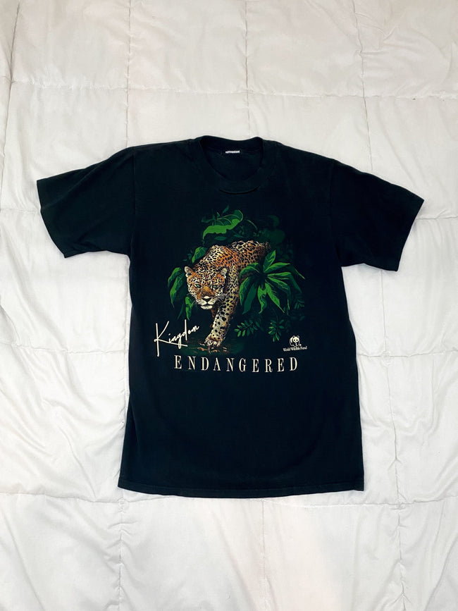 1990's Endangered Leopard x World Wildlife Fund Vintage T-Shirt