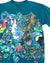 1990's Rainforest Scene Habitat Vintage T-Shirt