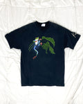 1990's Rainforest Red Eyed Tree Frog Vintage T-Shirt