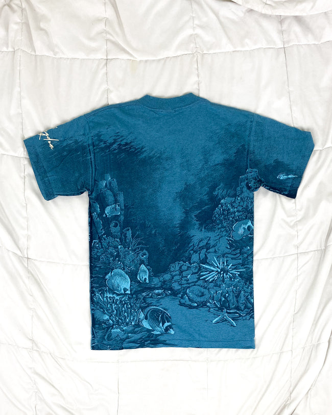 1990's Sea Turtle Habitat Vintage T-Shirt