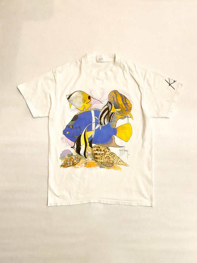 1990's Guy Harvey Tropical Fish Vintage T-Shirt