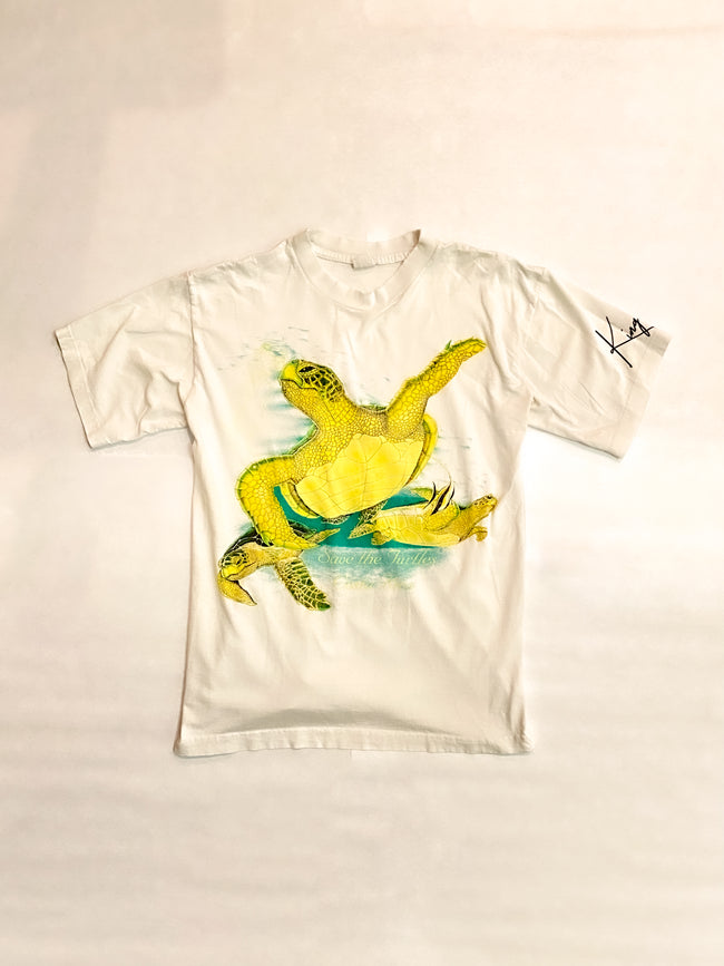 1990's Save The Turtles Costa Rica Vintage T-Shirt