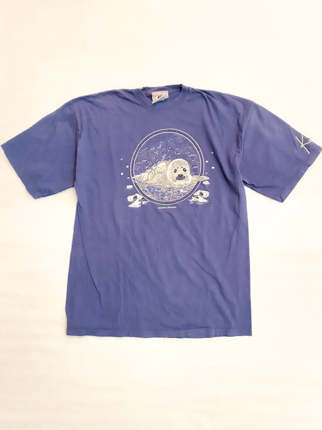 1990's One World, Once Chance Seal Pup Vintage T-Shirt