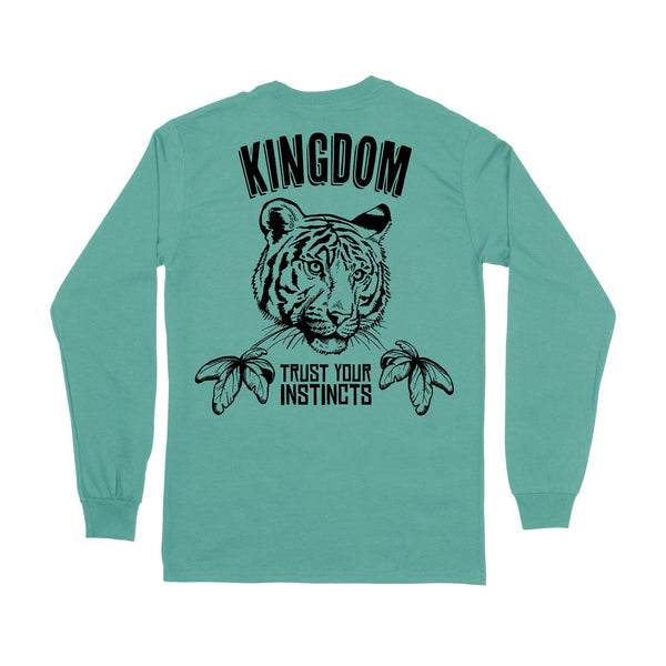 Tiger Palms Long Sleeve Tee