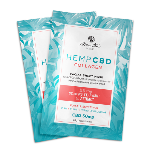 CBD Collagen Mask