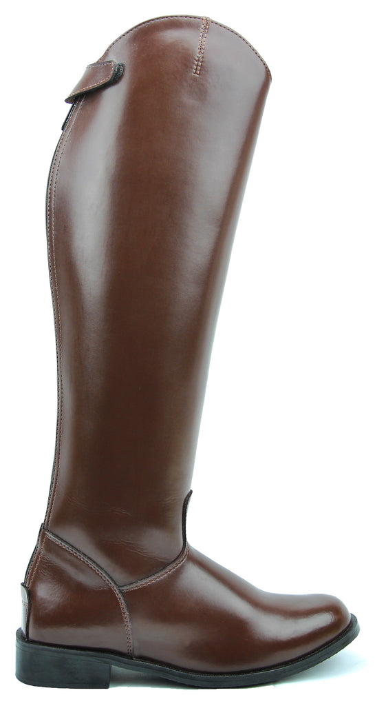 FAMMZ MB-3 Men's Man Horse Riding Mounted Police Patrol Tall Boots With Back Zipper Equestrian