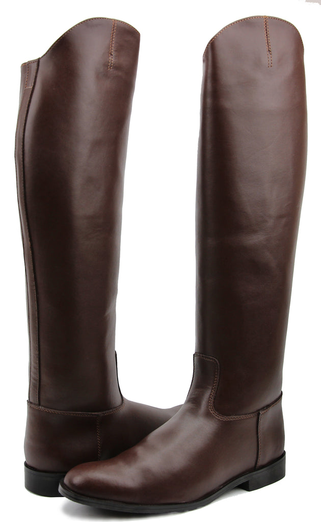 FAMMZ MB-3 Men's Man Horse Riding Mounted Police Patrol Equestrian Tall Boots Without Back Zipper