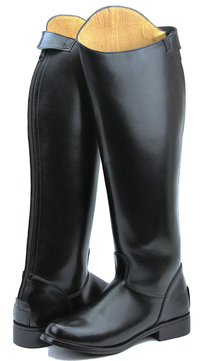 FAMMZ MB-3 Women Ladies Horse Riding Mounted Police Patrol Tall Boots With Back Zipper Equestrian