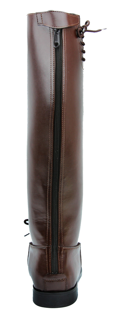 Fammz MB2 Men's Man Motorcycle Police Patrol Leather Tall Knee High Riding Boots