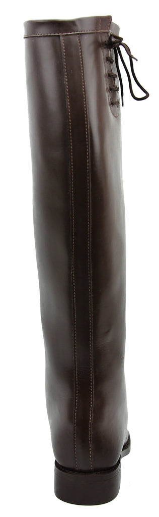 FAMMZ DYNO Women Ladies Motorcycle Riding Police Patrol Fashion Leather Tall Riding Boots