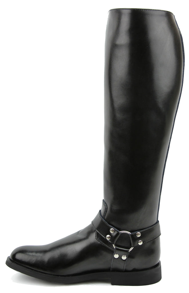FAMMZ CASPER Harness Women Ladies Motorcycle Police Leather Fashion Stylish Tall Riding Boots