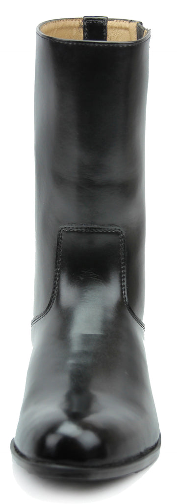 FAMMZ Atlas Women Ladies Mid Calf Leather Boots