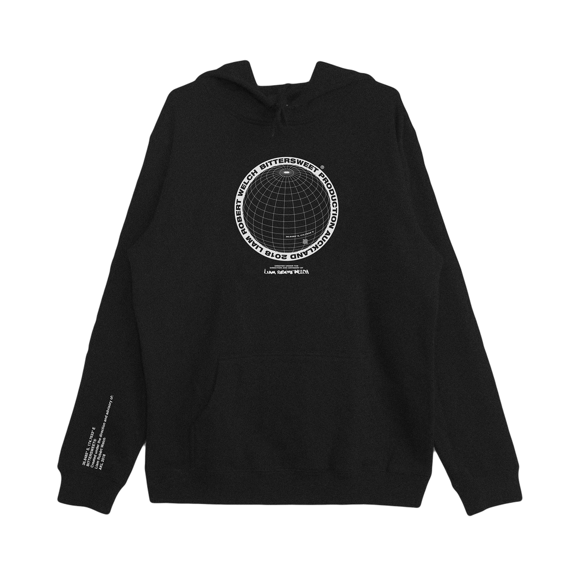 The Universal Hoodie - Bittersweet New Zealand Streetwear Clothing T-Shirt Hoodies Auckland Hype Stripes Reddit Declan Short