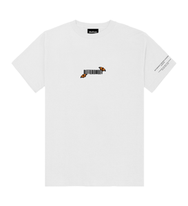 Butterfly T-Shirt White - Bittersweet New Zealand Streetwear Clothing T-Shirt Hoodies Auckland Hype Stripes Reddit Declan Short