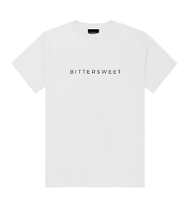 Short-Sleeve Logo Tee White - Bittersweet New Zealand Streetwear Clothing T-Shirt Hoodies Auckland Hype Stripes Reddit Declan Short