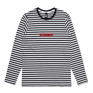 Striped L/s Tee Shirt - Bittersweet New Zealand Streetwear Clothing T-Shirt Hoodies Auckland Hype Stripes Reddit Declan Short
