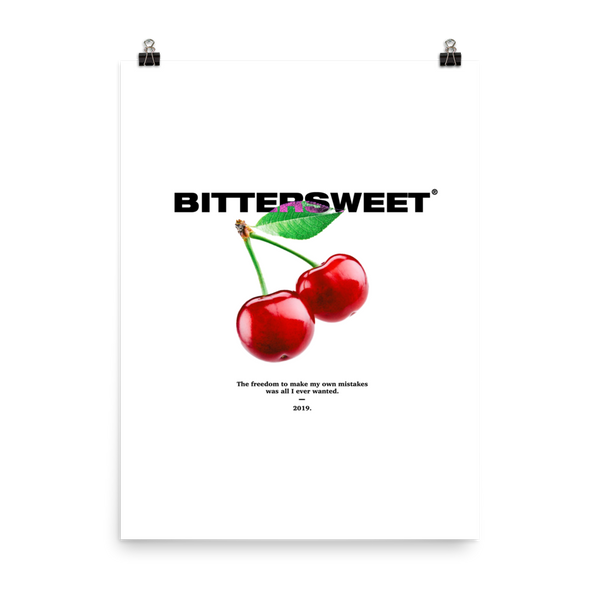 'Depression Cherry' Poster