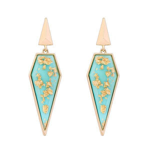 The Adelaide Earrings-Earrings-PeachPony-Aqua-PeachPony