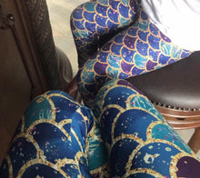 Custom Designed Mermaid Leggings