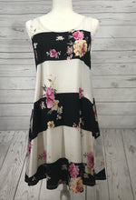 Floral Striped Dress - SOVA Boutique